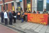 Engleska policija hapsi turske komuniste u Londonu (VIDEO)