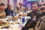 Procurela slika američkih okupacionih snaga u Sriji na večeri sa Kurdima