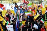 "Dan pred sankcije demonstranti uzvikivali: ""Smrt Americi, smrt Izraelu""!"