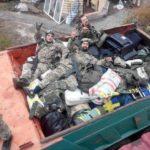 Ukrajinski vojnici i ratni plen