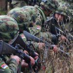 Pripadnici Vojske Srbije na vojnoj vežbi NATO-a