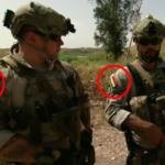 Kanadski vojnici u Iraku nose zastave Kurdistana na uniformama