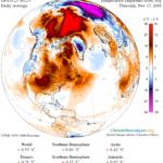 Temperature na Arktiku za čitavih 20'C više od uobičajenih!